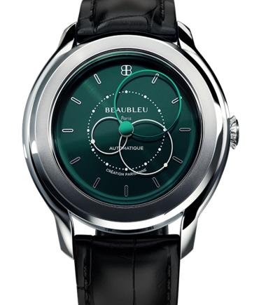 Montre Beaubleu Brio green black