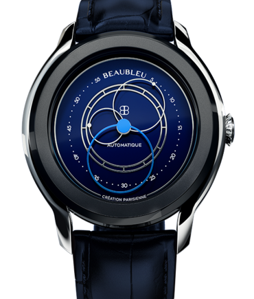 Montre Beaubleu Intrepide klein blue