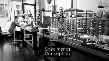 La conception de la montre SPECIMEN 01